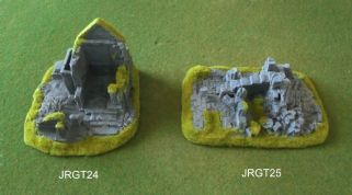 Javis Countryside Scenic Terrain JRGT24/25 15mm/20mm Medieval Ruins (x 2 models)